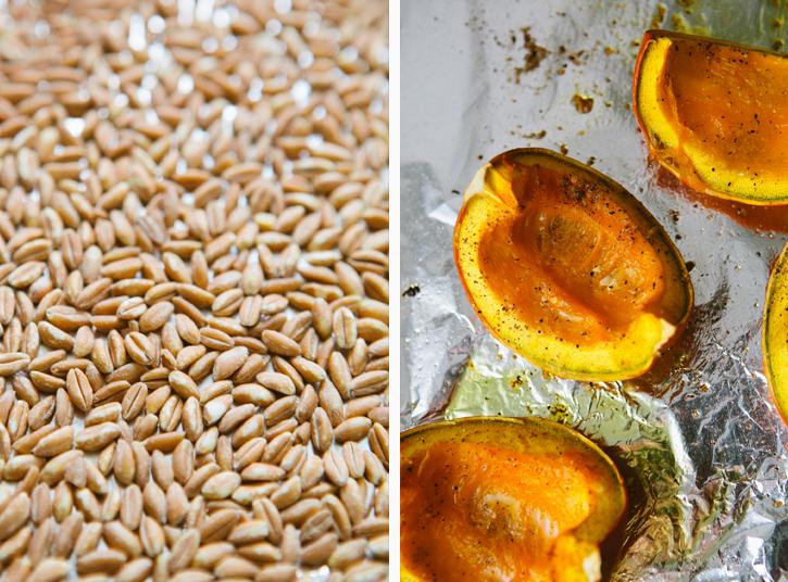Pumpkin Potage with Toasted Farro