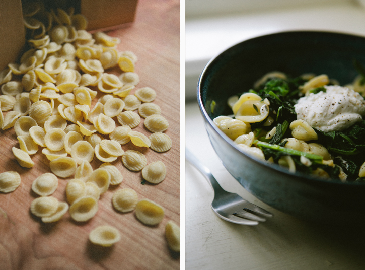 Pasta with Broccoli Rabe and Lemon Ricotta