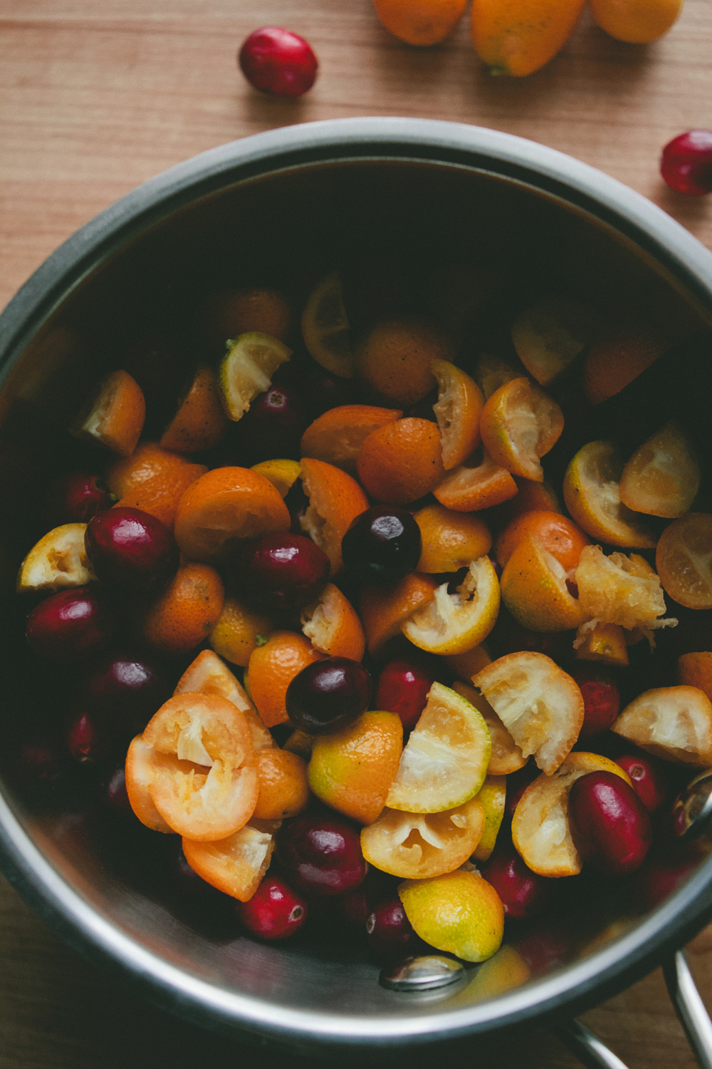 Cranberry and Kumquat Sauce - A Thought For Food