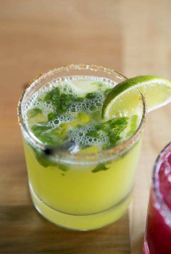 Chile Infused Mezcal Cocktail from El Naranjo - Austin, TX