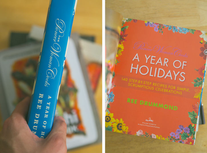 The Pioneer Woman Cooks: A Year of Holidays Cookbook Giveaway via A Thought For Food