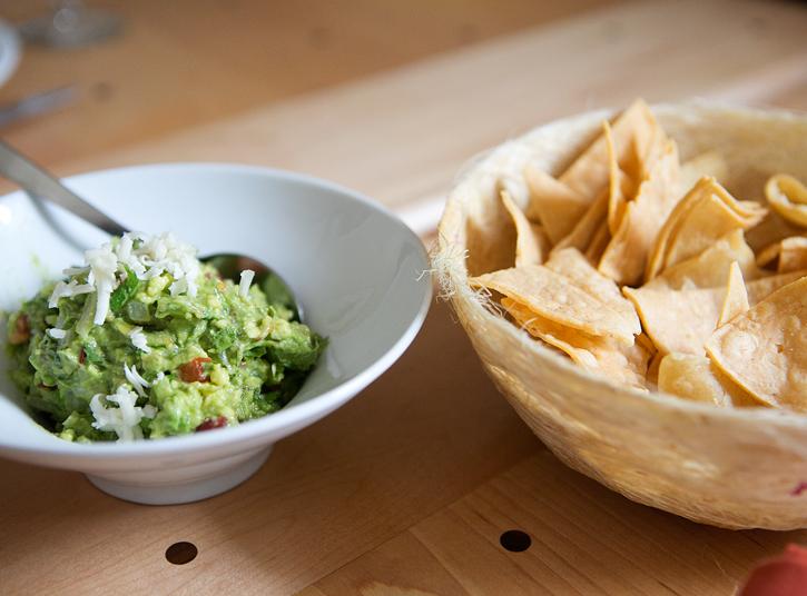 Guacamole and Chips - El Naranjo - Austin, TX