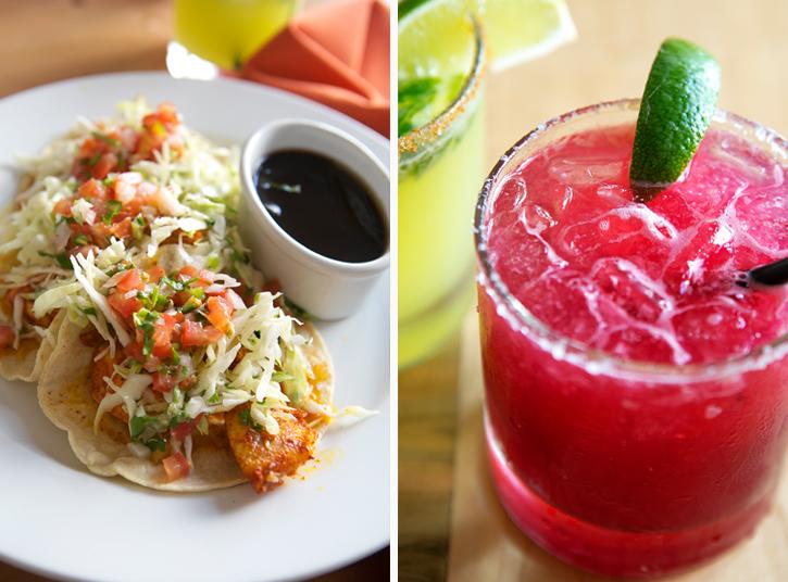Fish Tacos and the Jamaica Sour - El Naranjo - Austin, TX