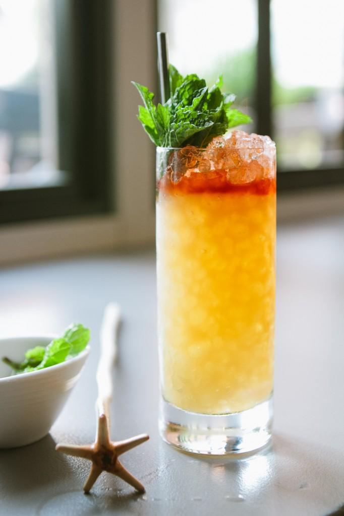 The Company Swizzle - The Hawthorne Bar - Boston, MA