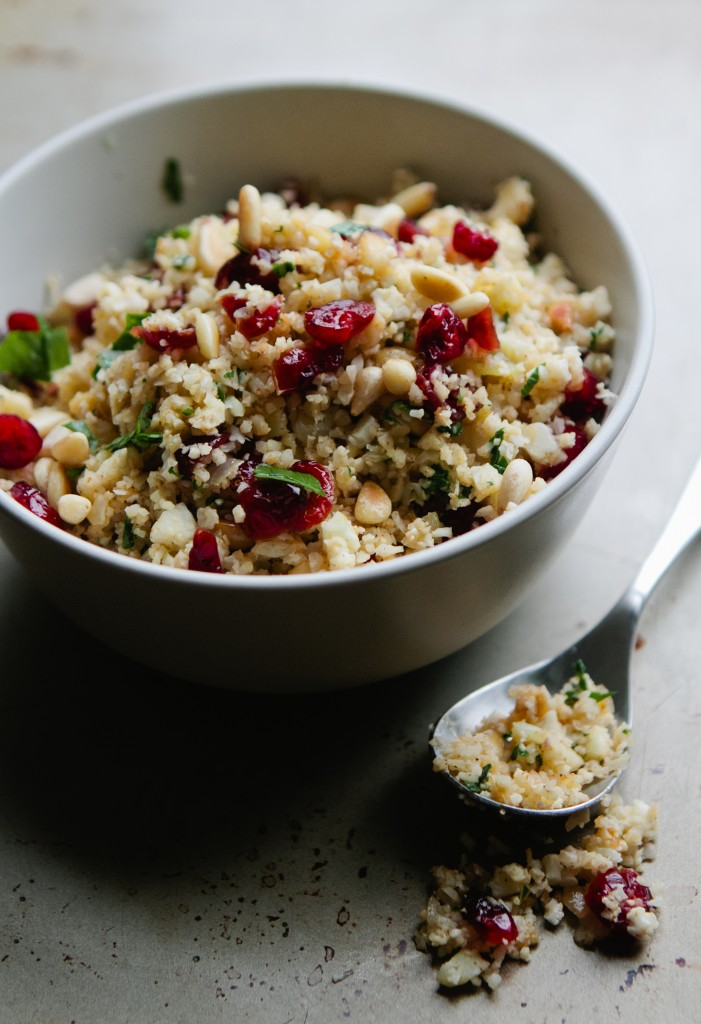 """Cauliflower """"Couscous"""" from A Thought For Food #glutenfree #vegetarian #recipe"""