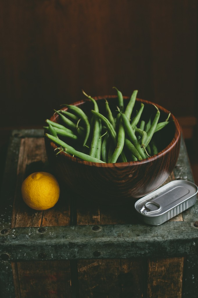 Bean Salad with Lemon-Anchovy Dressing from A Thought For Food