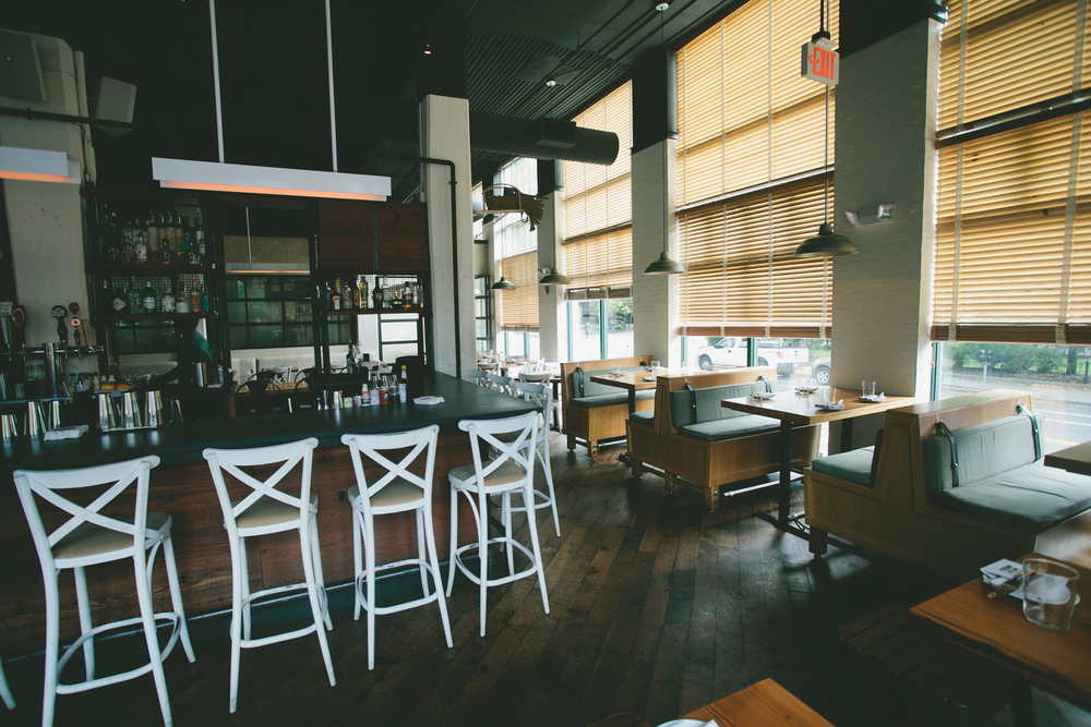 Interior of West Bridge in Cambridge, MA|| via A Thought For Food