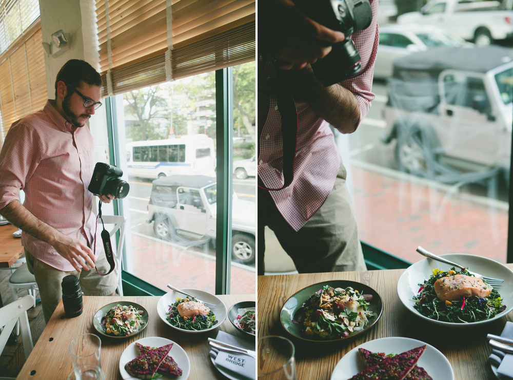 How I Photograph Restaurants with Canon Lenses || via A Thought For Food