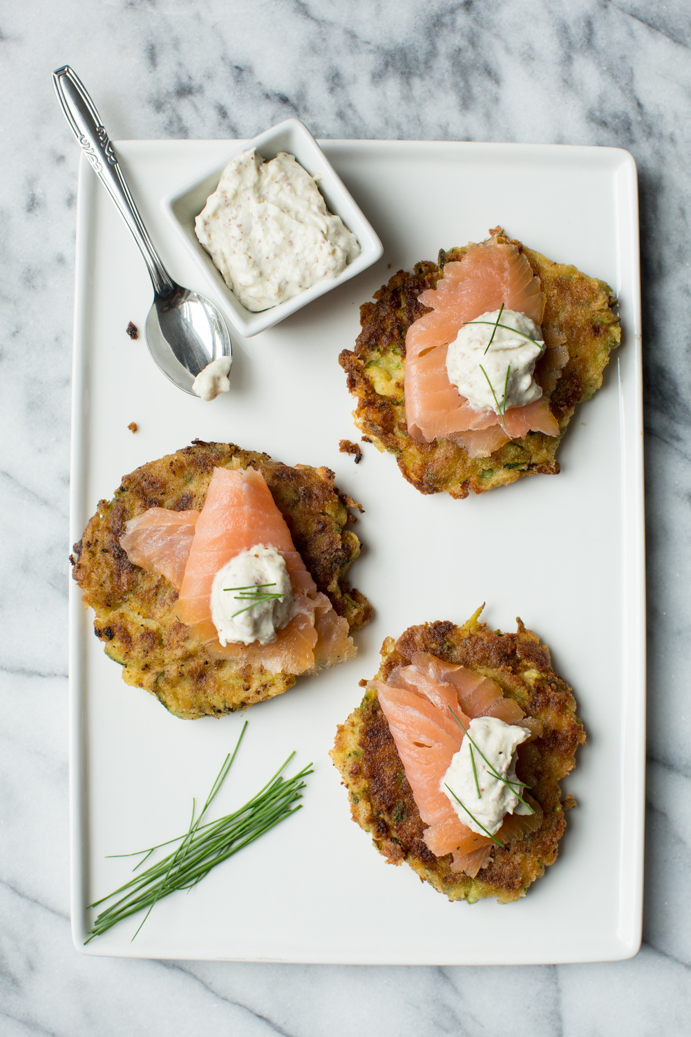 Zucchini and chickpea fritters with smoked salmon a thought for food the whole weekend i had been focused on my work photographing the worlds 50 best forumfinder Images