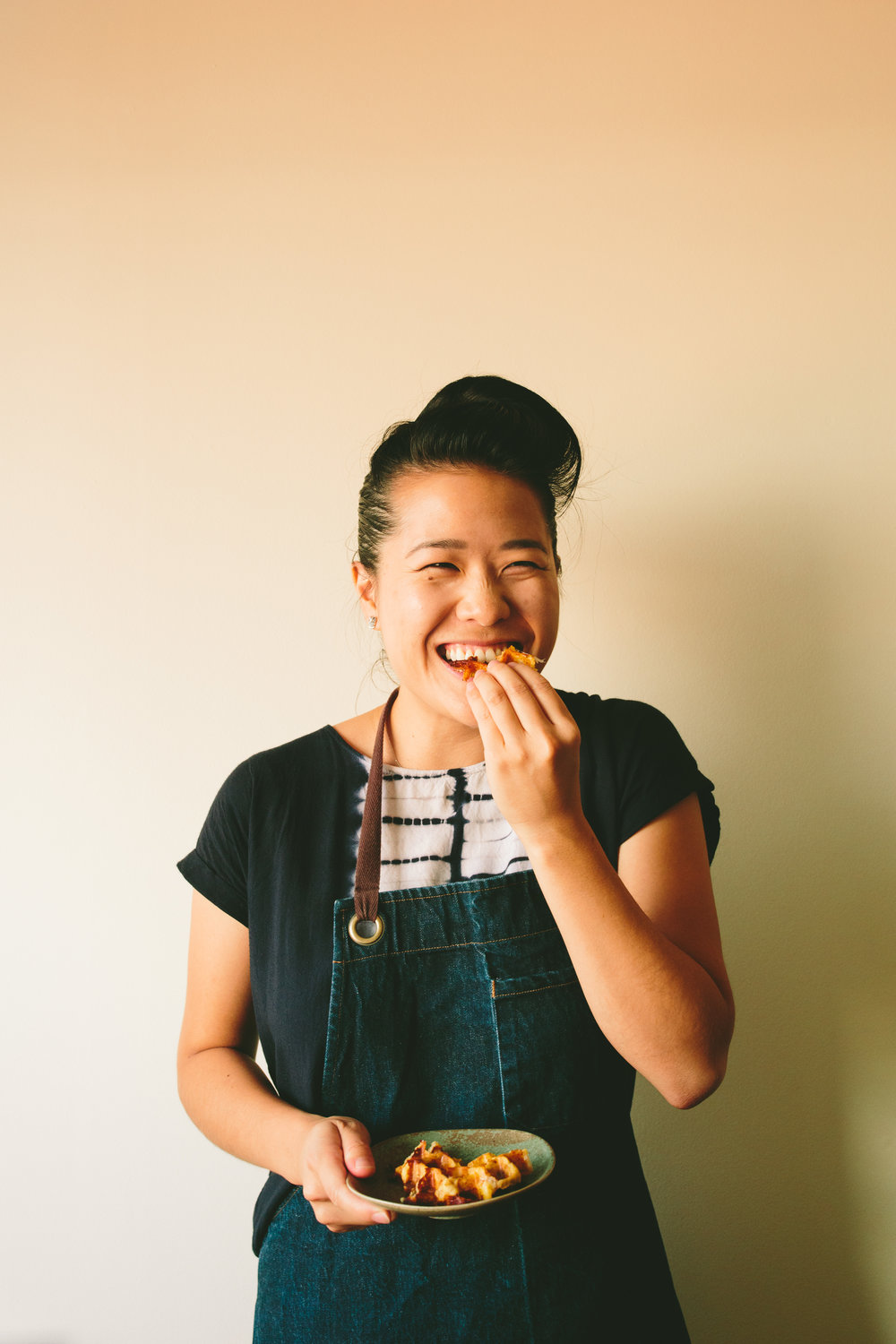 Tracy Chang - Chef at PAGU in Cambridge, MA - Photo by Brian Samuels of A Thought For Food