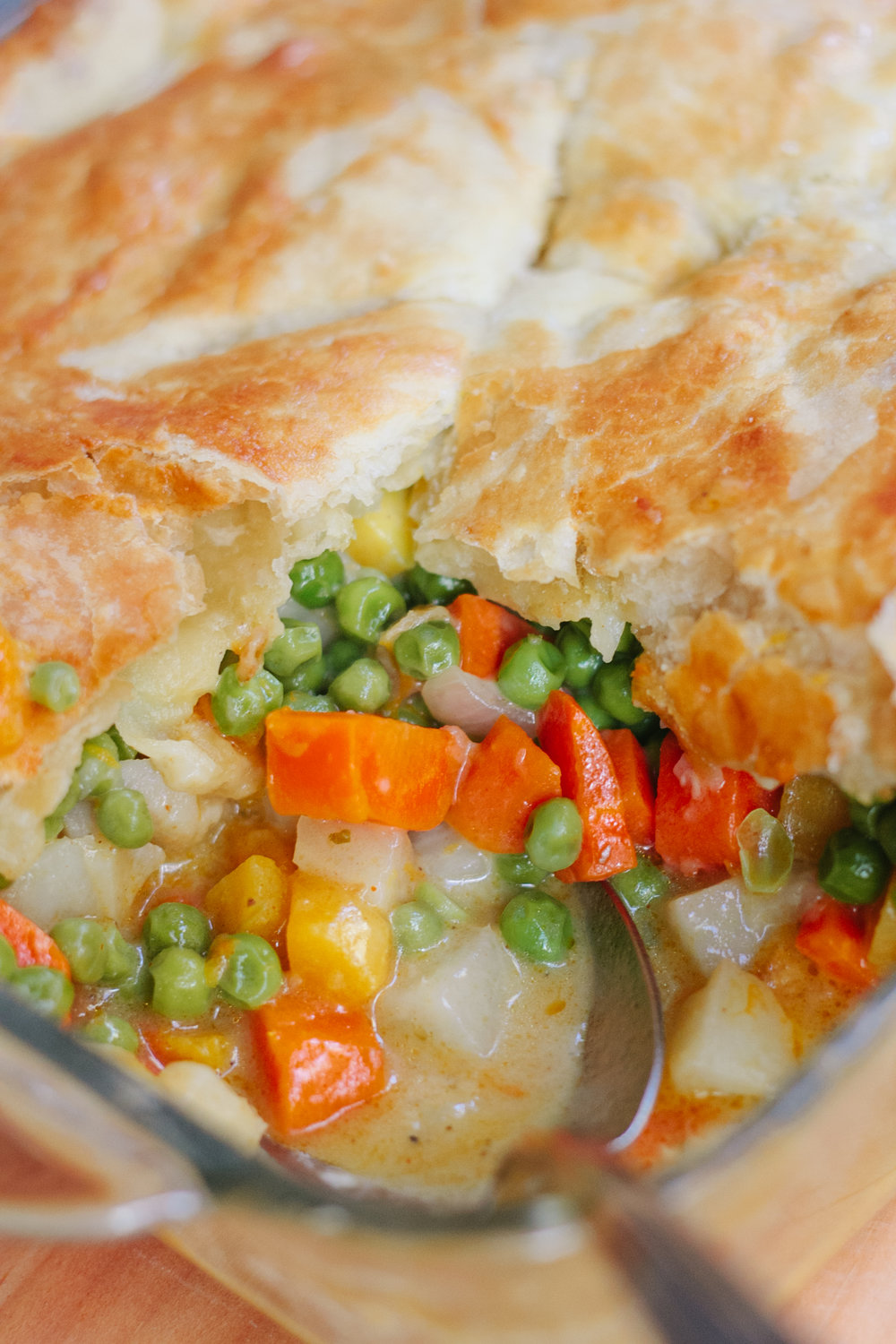FALL VEGGIE POT PIE