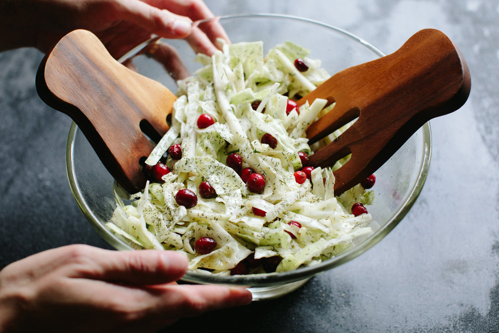 CABBAGE AND KOHLRABI SLAW // A THOUGHT FOR FOOD WWW.ATHOUGHTFORFOOD.NET