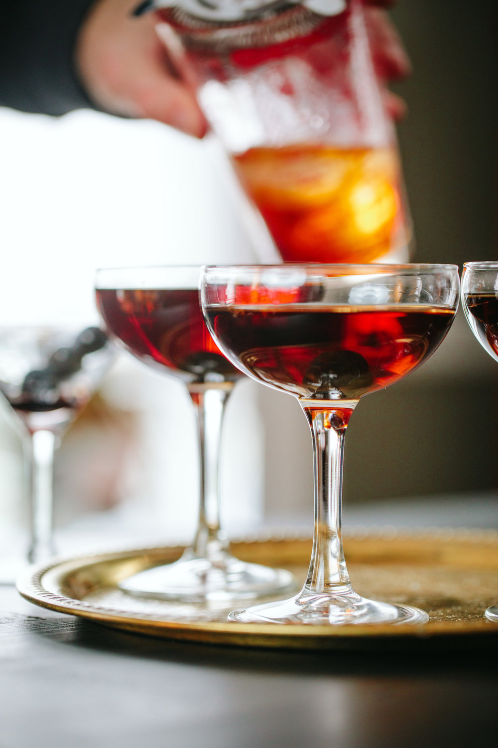 Classic Manhattan Cocktail Recipe - www.athoughtforfood.net