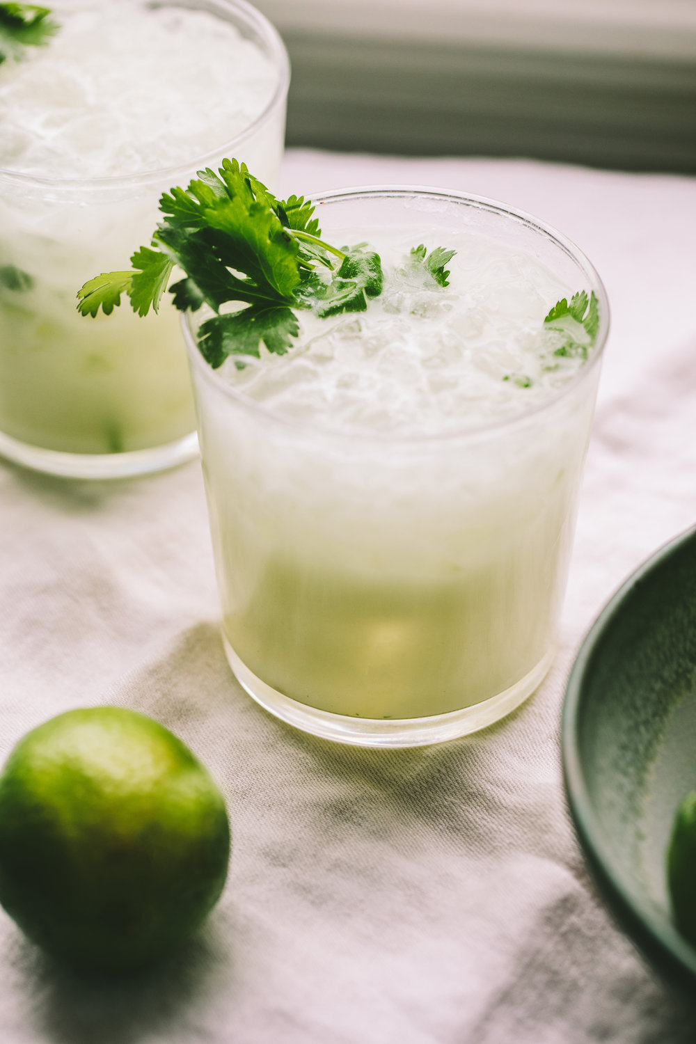 Gin Coconut Cooler from A Thought For Food