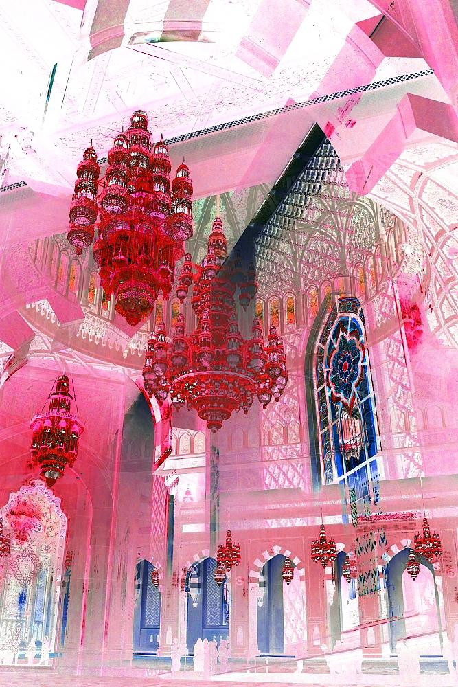 Grand Mosque VI Pink