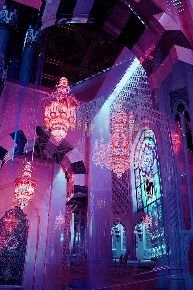 Grand Mosque VII Purple