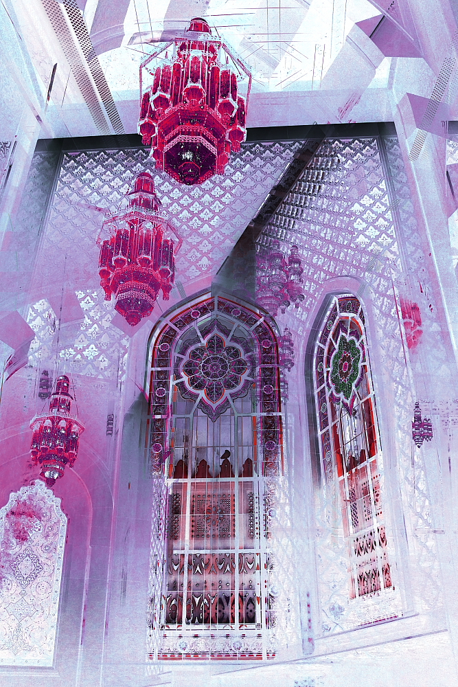 Grand Mosque X Pink