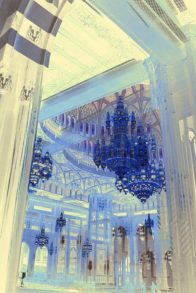 Grand Mosque XI Blue