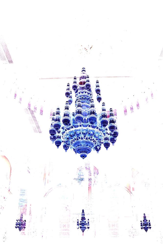 Grand Mosque XIV Blue