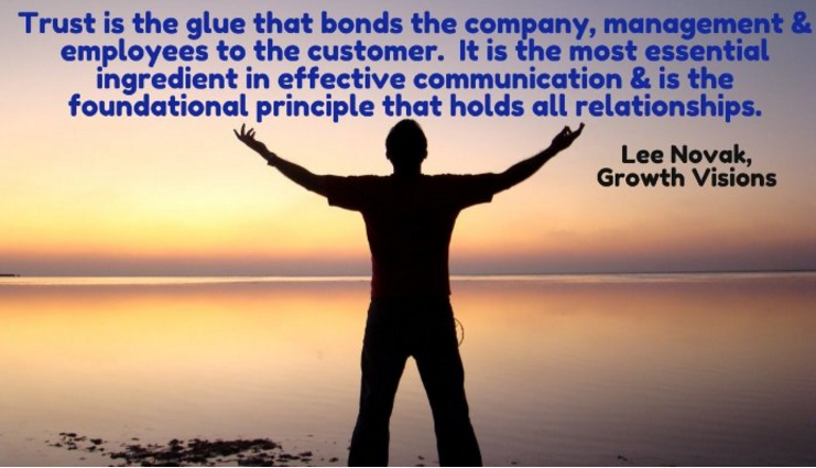 Trust is the Glue for any High Performing Organization