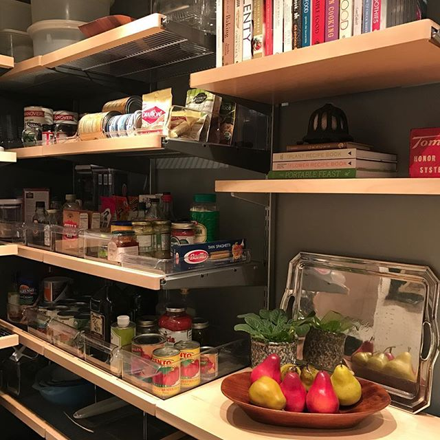 Inkwell Press kitchen organiation challenge inspired a pantry update.