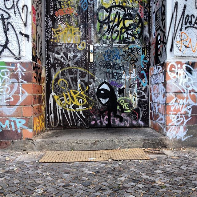 @noriakinoriaki & more #berlin #graffiti #streetart #tags #noriaki