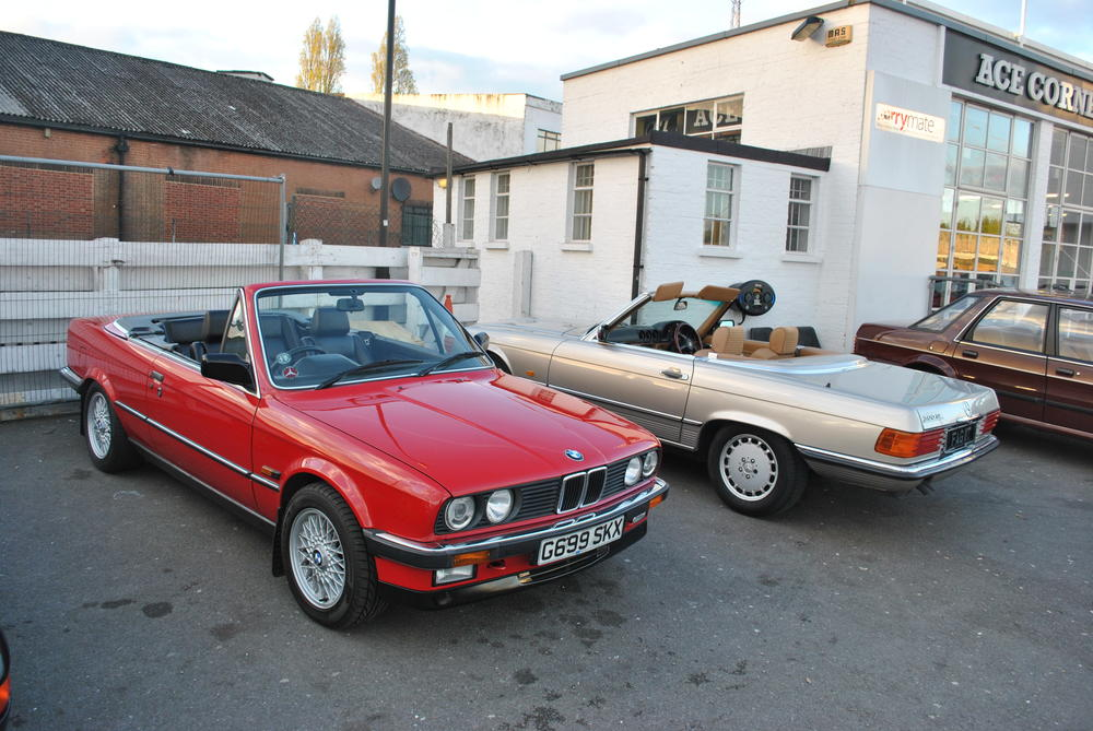 BMW E30 3 Series Cabriolet