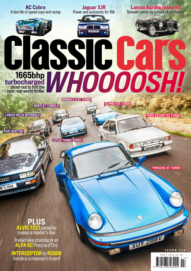 July issue more — Classic Cars Magazine