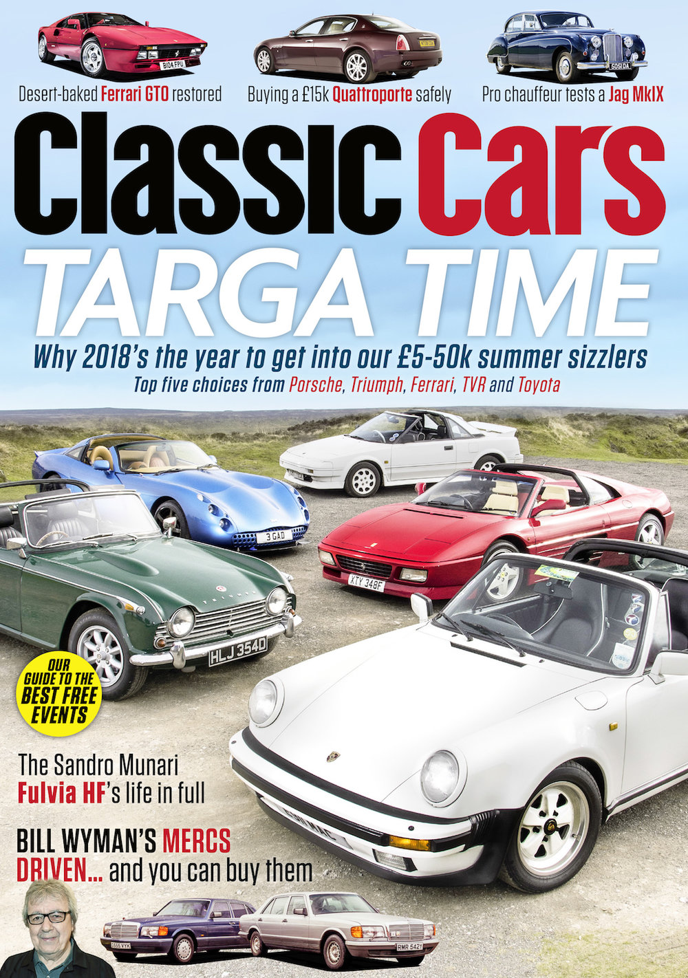 July 2018 Issue More Classic Cars Magazine
