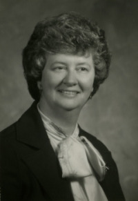 Rev. Ellen Frost, first woman president