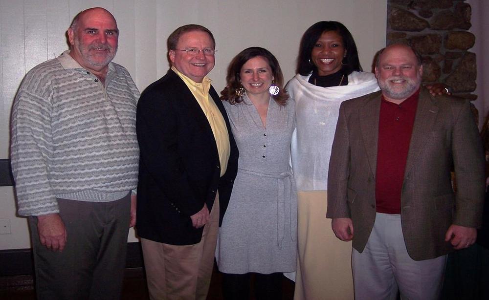 The instructors: Dan Miller, Bill Keeton, Danielle LeClair, Tanya Diamond, Robert Purcell