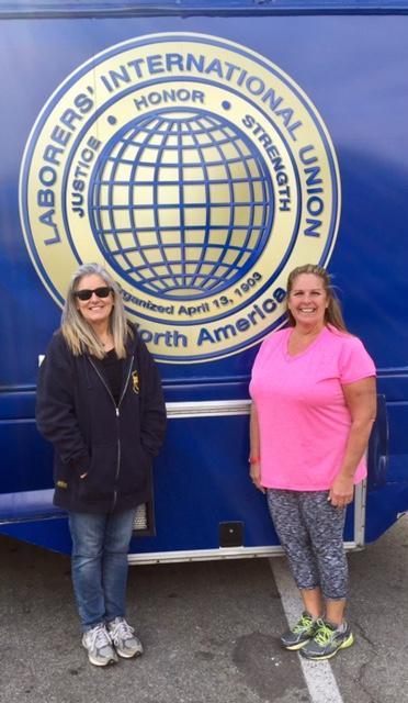 Lisa eagan (DMV) and barbara beal (JohnSton)