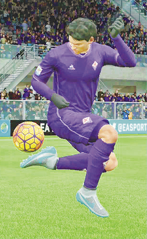 MATIAS FERNANDEZ FIORENTINA * CM £4.5 MILLION Chile's Fernandez is mega creative at CM or CAM! He's got awesome stats for Passing, Dribbling and Ball Control!