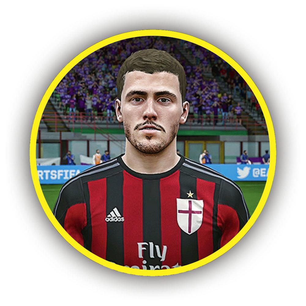 ALESSIO ROMAGNOLI AC Milan * 76