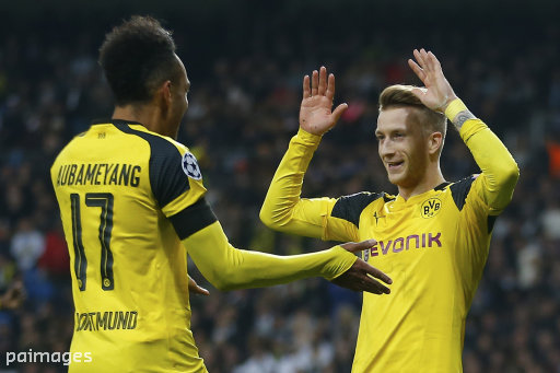 Reus has started just four Bundesliga games this season