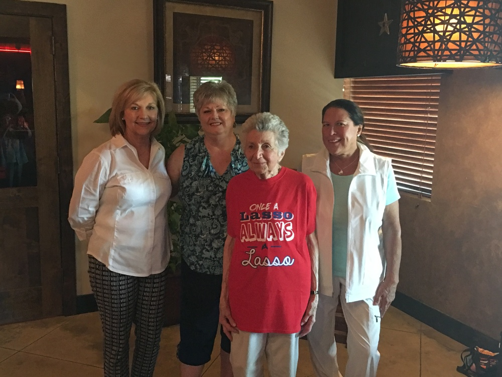 L-R: Nancy Andry, Dana Ward, Marcia Nasatir and Sandy Gulledge.