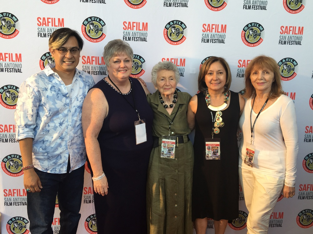 Adam Rocha, Dana Ward, Marcia Nasatir, Anna Catalani and Anne Goursaud