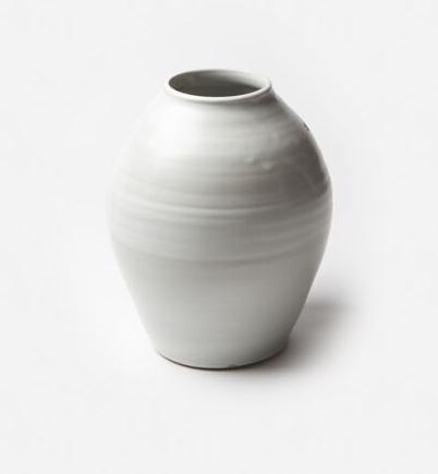 Douglas Dowers Glazed Ceramic Vase Extra Large White