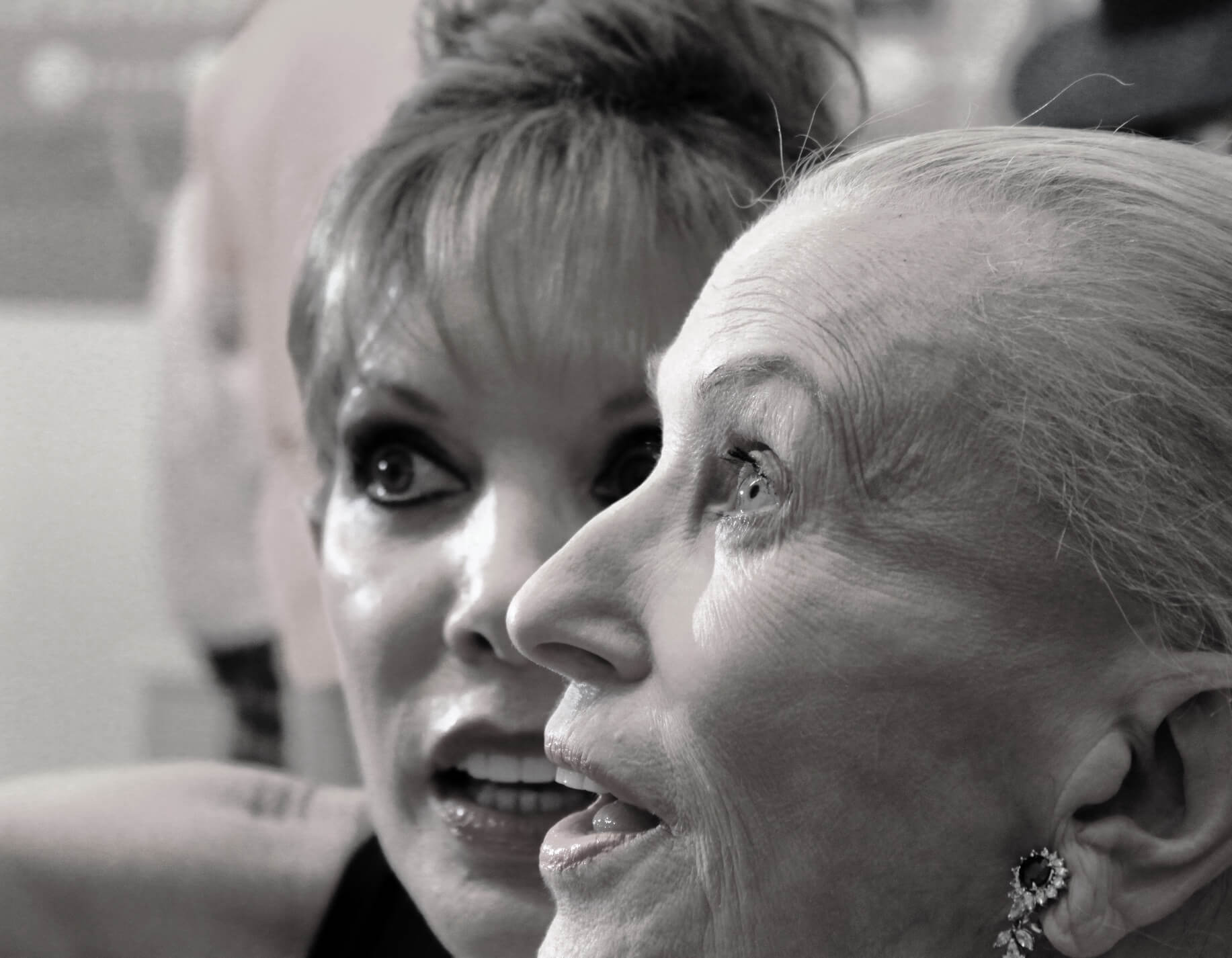 Michele Riggi and Marylou Whitney at the National Museum of Dance