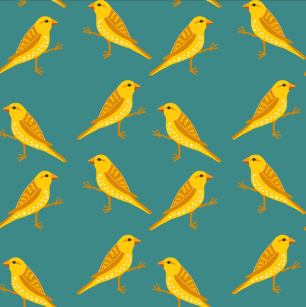 I pulled this right from Spoonflower, so I apologize that the resolution isn't great (the original file is much cleaner!) See? A repeating pattern!