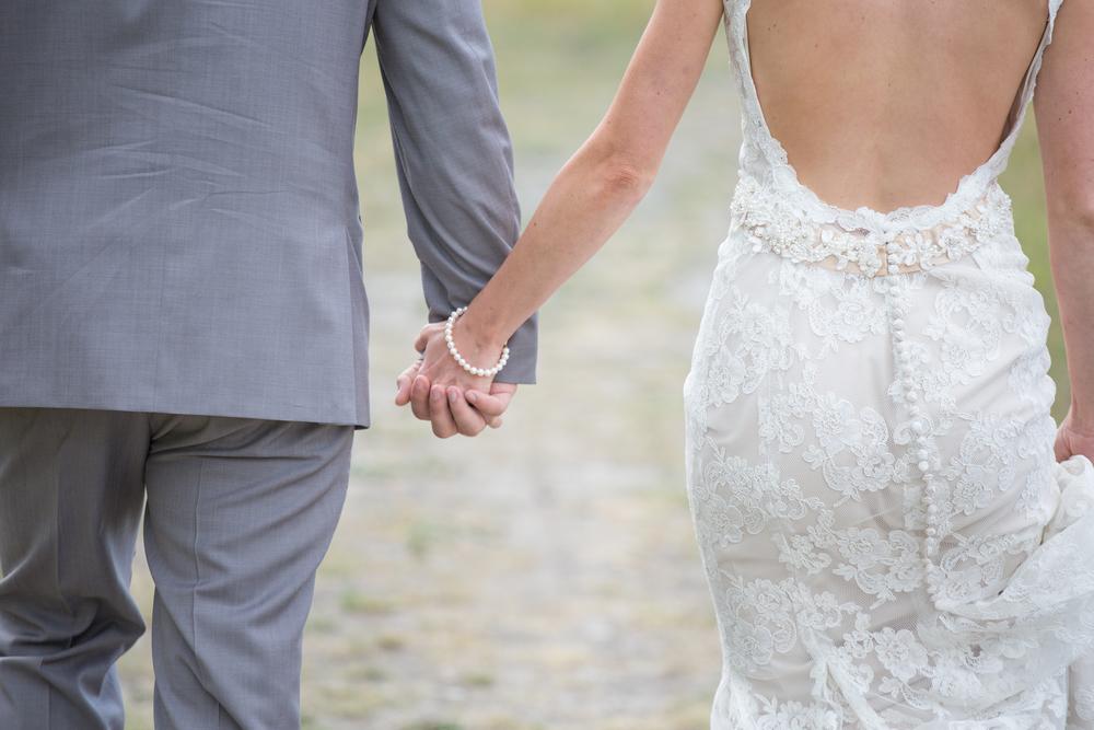 mountain wedding photography inspiration lace dress