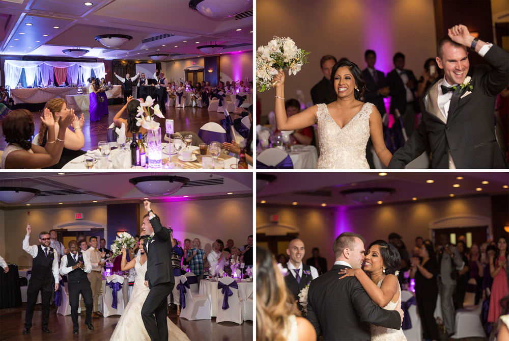 Calgary Carriage House Inn Wedding reception dance photographs