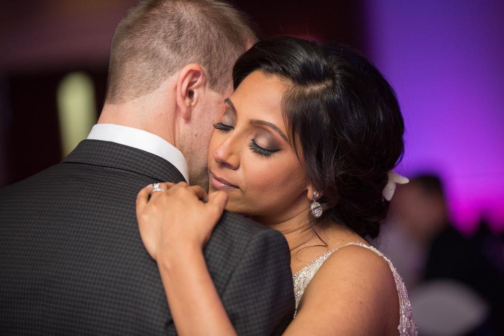 Calgary wedding first dance photography