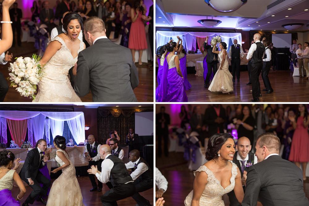 Carriage House Inn wedding reception dance off