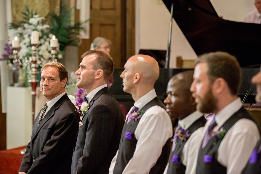 Calgary wedding in First Baptist Church