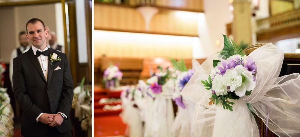 First Baptist Church Calgary wedding photography