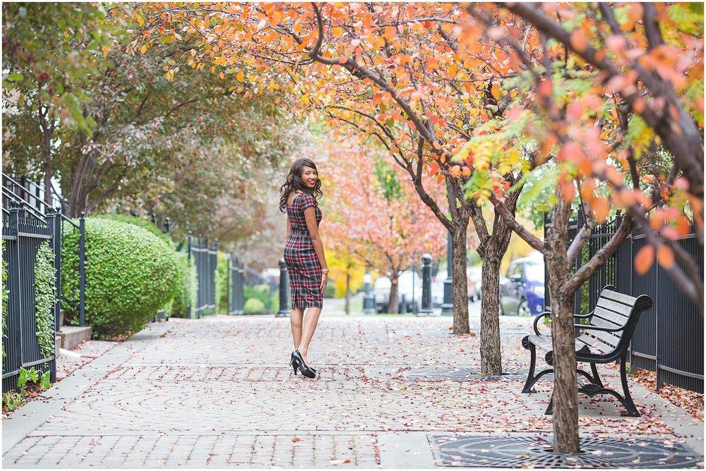 Autumn in Europe portrait session in Calgary Alberta