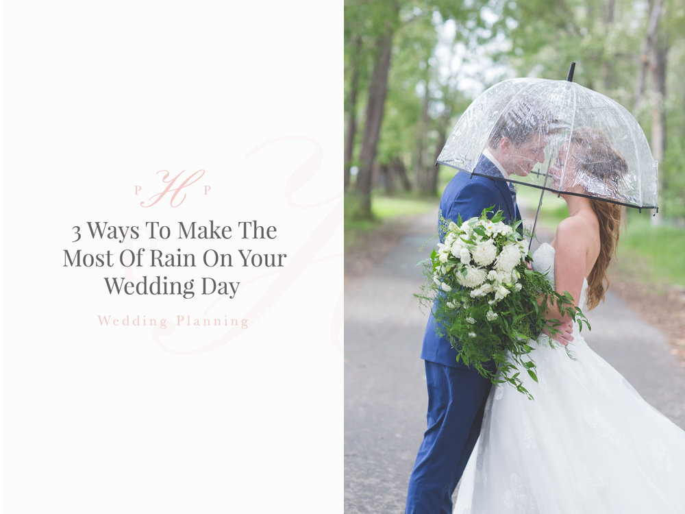 Wedding Planning: Making The Most Of Rain On Your Wedding Day