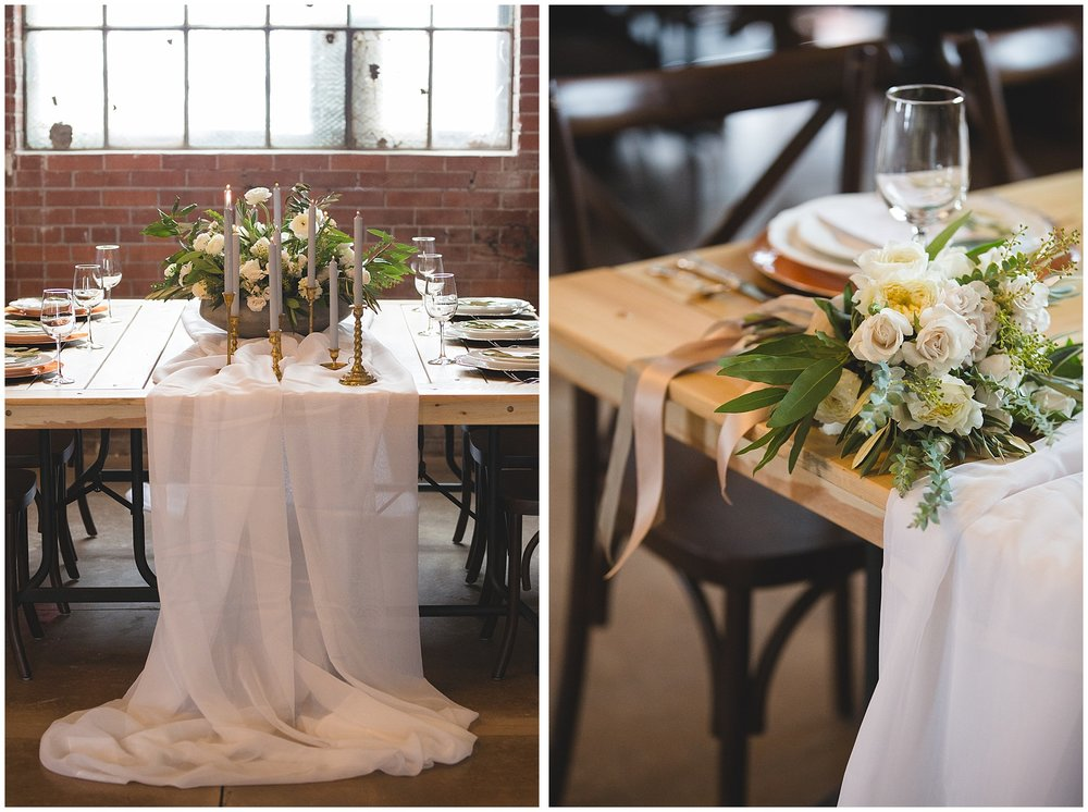 Styled Wedding Reception Photography