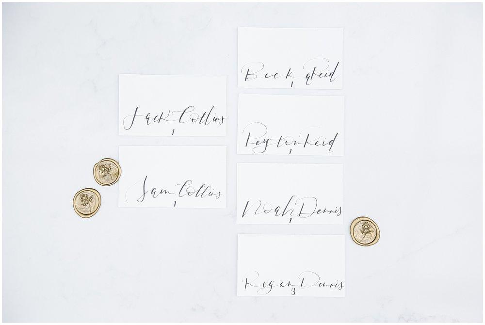 Calligraphy Wedding Inspiration